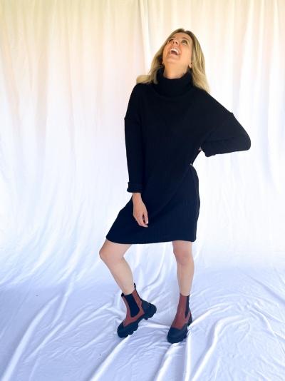 Doll dress black