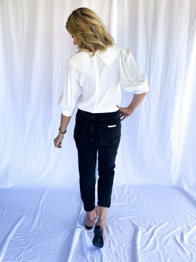 Hanne blouse white