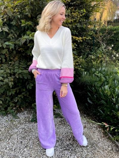 Vianna sweater pink/purple