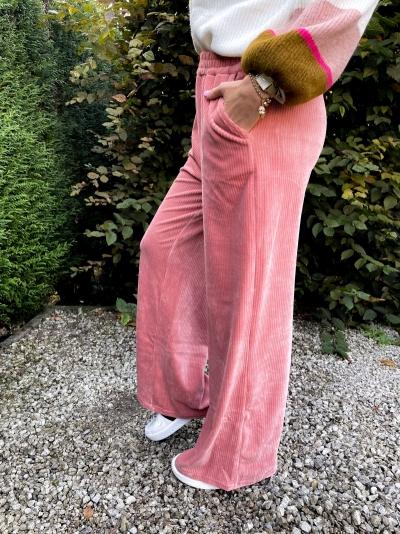 Alina pants dusty pink