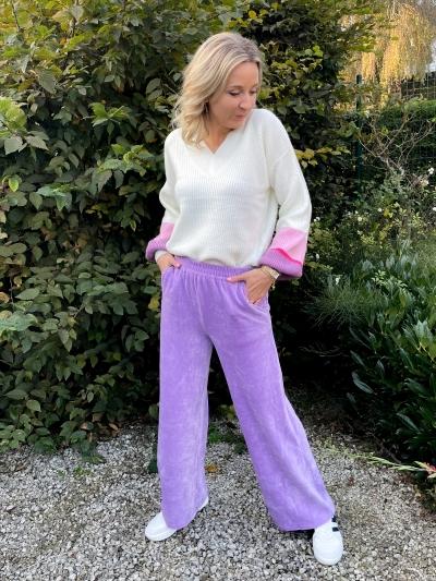 Alina pants lilac