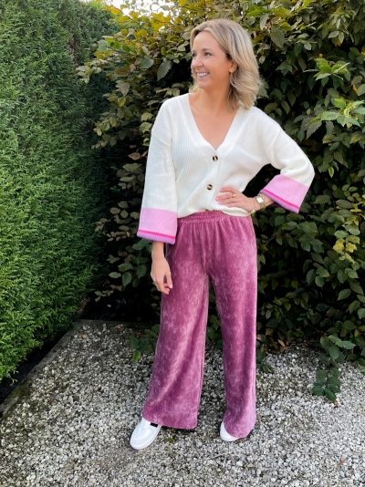 Alina pants dusty purple