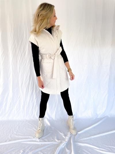 Maxine bodywarmer winter white