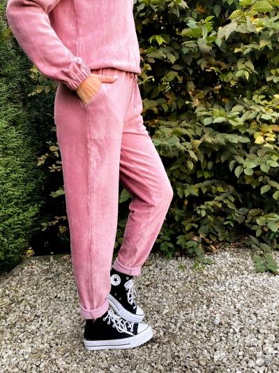 Maureen pants dusty pink