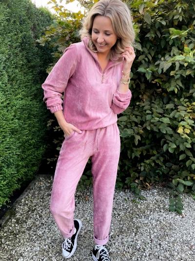 Jenka sweater dusty pink