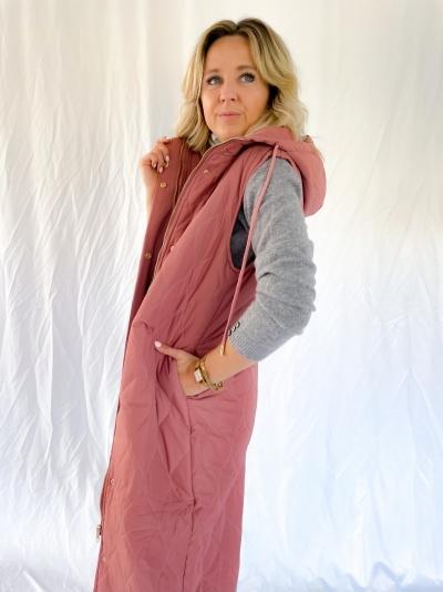 Ryanne bodywarmer pink/Brown