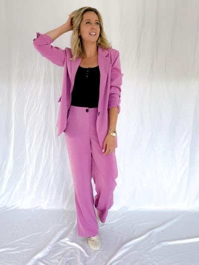 Maisie blazer pink