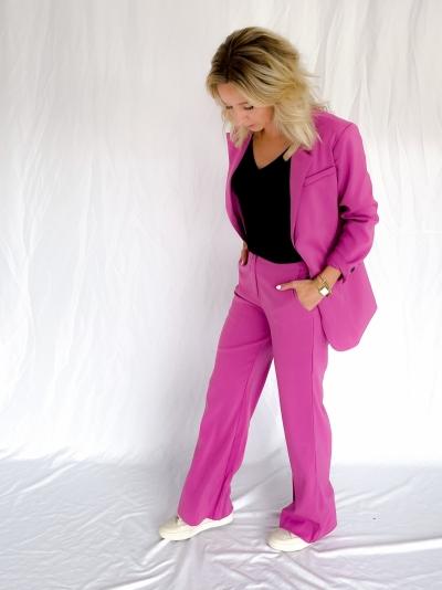 Maisie blazer purple