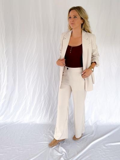 Solange pants winter white