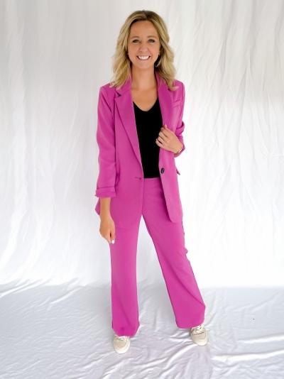 Solange pants purple