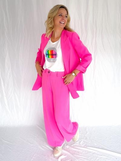 Flash oversized blazer pink