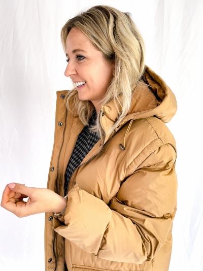 Eliza puffer camel