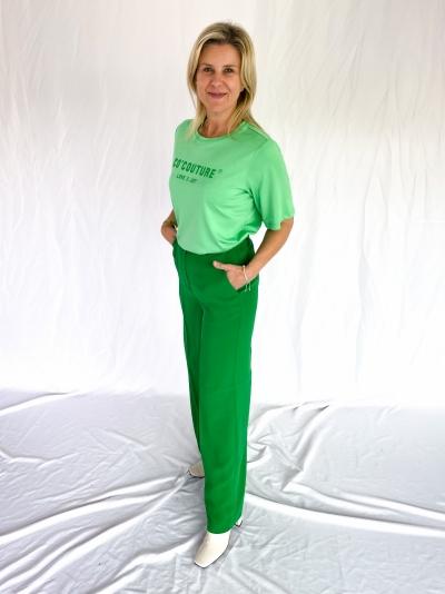 Flash wide pants green
