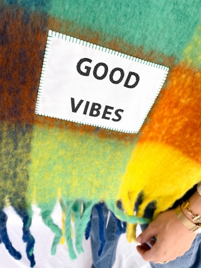 Good vibes multicolor