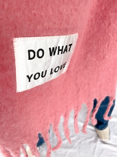 Do What You Love roze