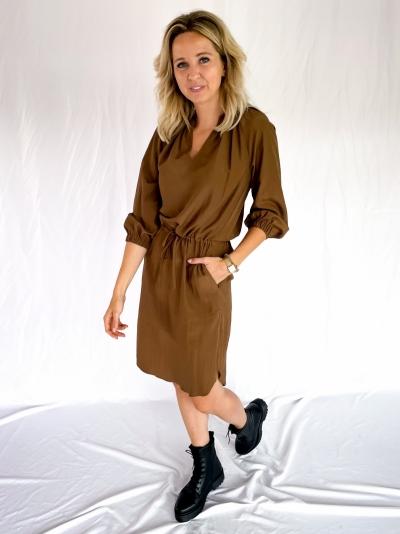Keeva Dress walnut