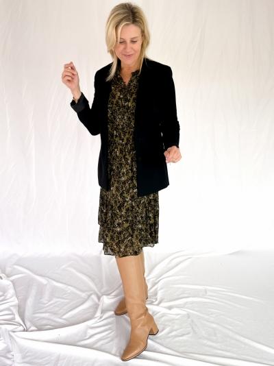 Simone dress burnt olive