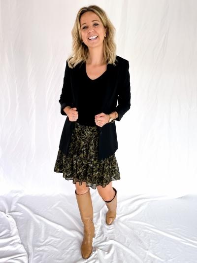 Simone skirt burnt olive