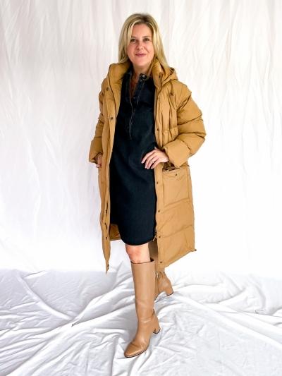 Gia dress black snow