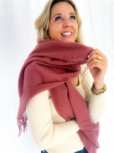 Sid stacy scarf canyon rose