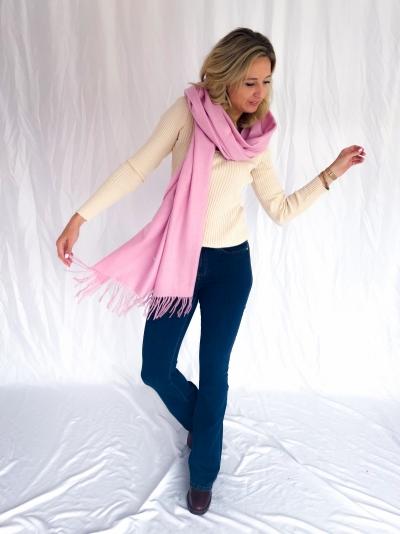 Sid stacy scarf pink sky