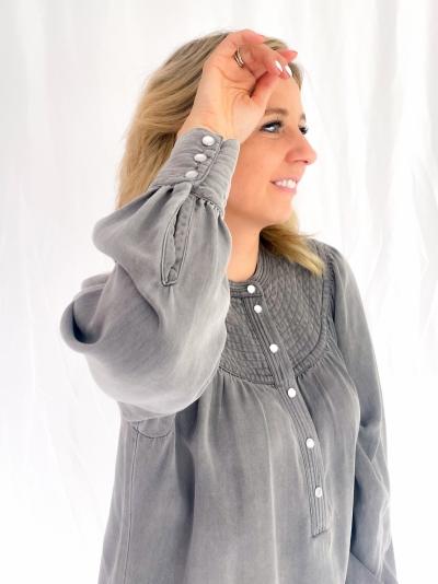Rya dress wash grey