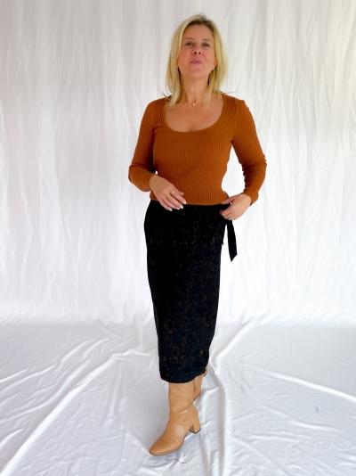 Berg knitted pull pecan brown