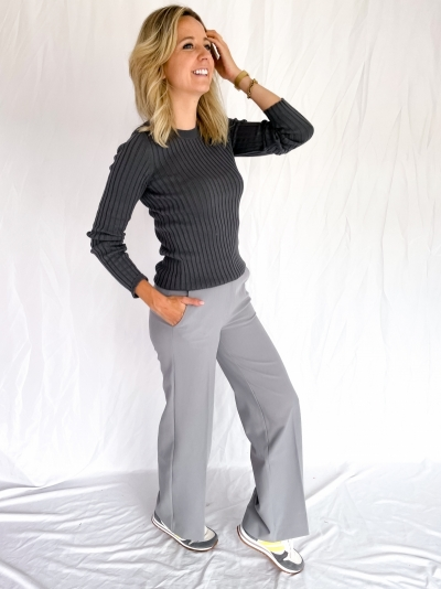 Moore pants slate grey
