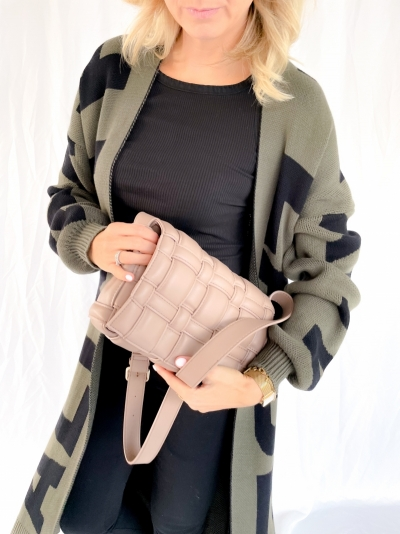 Bella crossover bag taupe