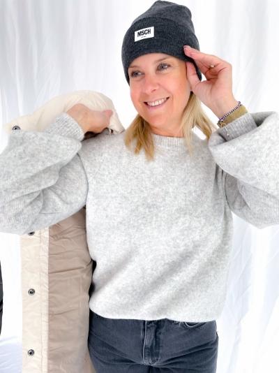 Jessiki Helanor knit light grey