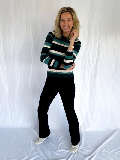 Minno Lurex Minnie knit emerald lurex s