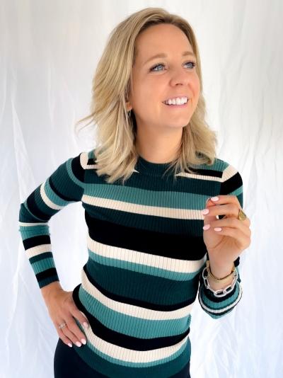 Minno Lurex Minnie knit logo