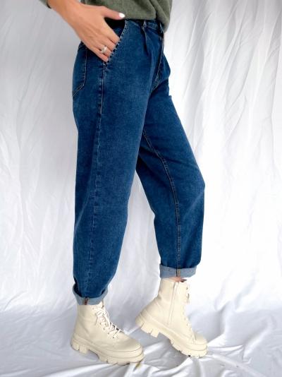 Hasna Rikka Ankle jeans logo
