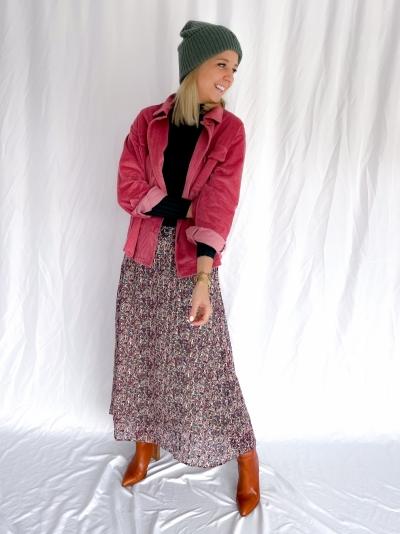 Kaline skirt lint flower