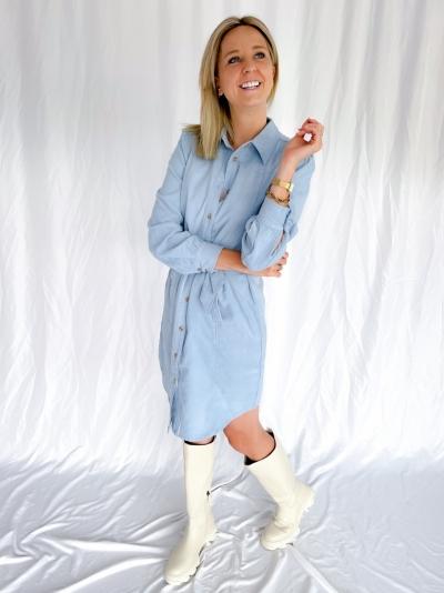 Cordy dress ashley blue