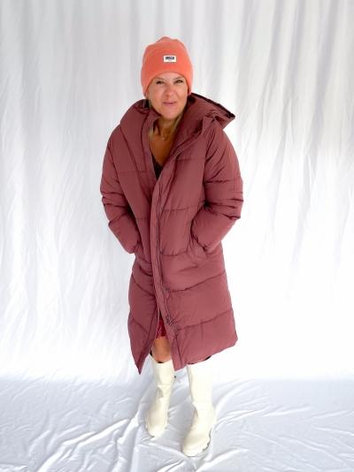 Opera Sandrina coat bordeaux