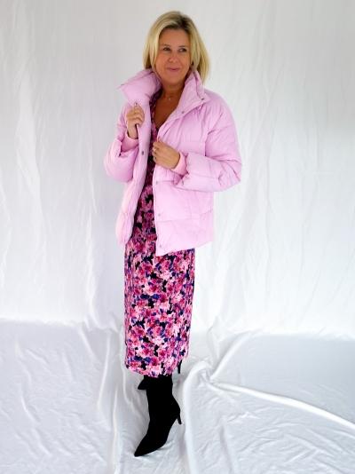 Marimba Sandrina coat pink sky
