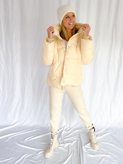 Marimba Sandrina coat banana crepe